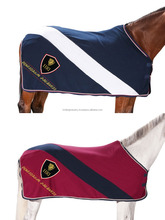 Navy & Red Horse Fleece Rugs / horse Fleece winter rugs / Horse Fleece Coolers