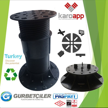 Raised Floor Pedestal Paving Heavy Loading Plastic