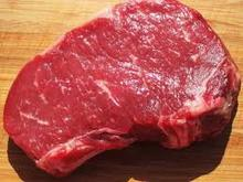 Frozen Halal Boneless Buffalo Meat , Thick Flank Top Side/ Rump Steak