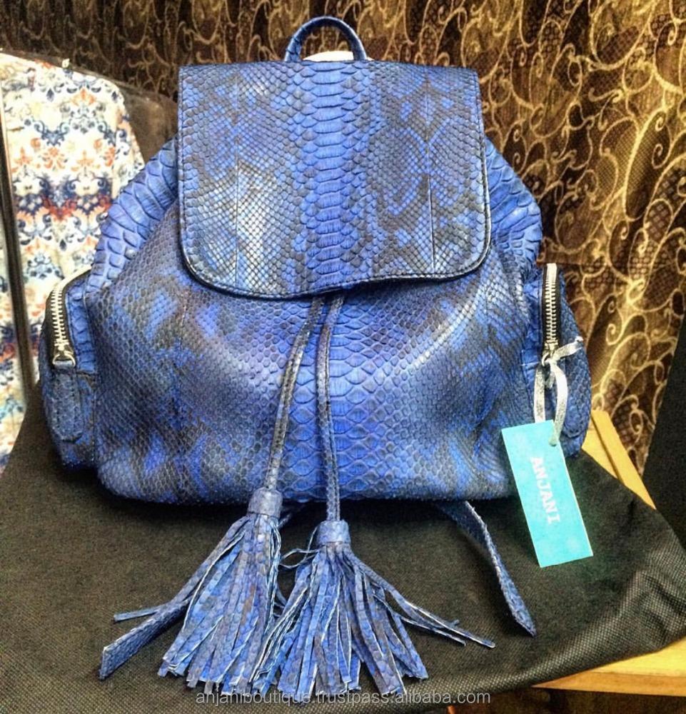 Indonesia Leather Backpack cbba764ea35e5