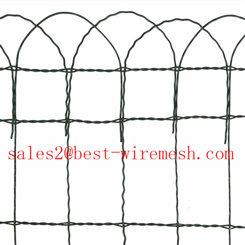 Historic Montford Style Double Loop Wire Fence/traditional Double ...