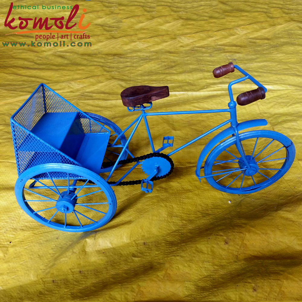 Iron metal craft bicycle miniature bike and decorative for Bicycle decorations home