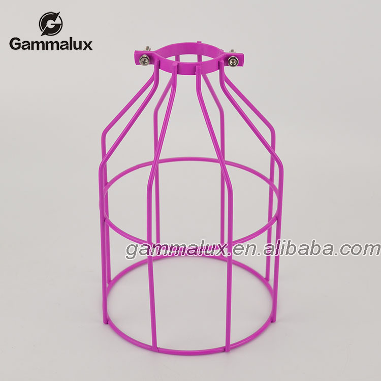 Indoor Iron Cage Light Suspended Ceiling Pendant