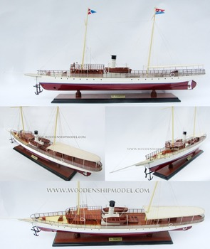 Al Primero Steam Yacht Wooden Cruise Ship Handicraft Of Vietnam - Toy cruise ships for sale