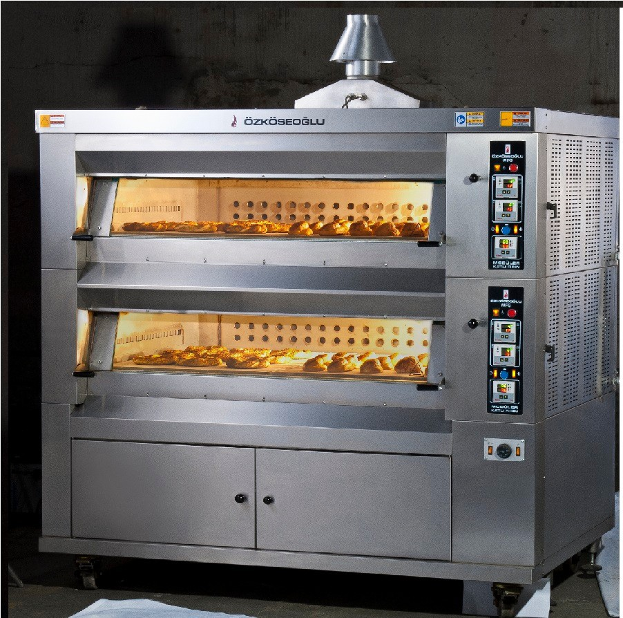 MODULER DECK OVEN - MFG / MFE