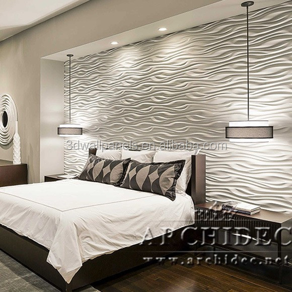 Household Bedroom Background 3d Wall Covering Creative Lifestyle