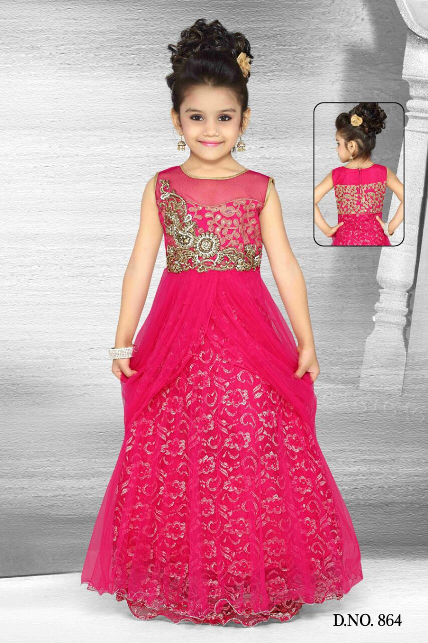 Girls churidar lehengas and chaniya choli buy kids for Indian wedding dresses for girls