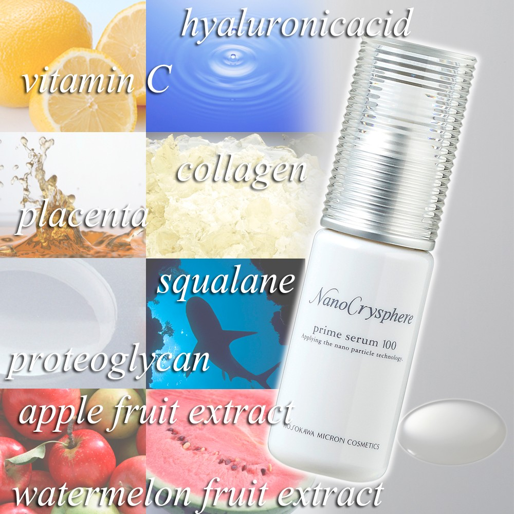 High-grade high concentrated skin care essence prime serum 100 for dry skin made in Japan