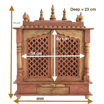 Du0027Dass Home Temple/ Wooden Temple/ Pooja Mandir/ Mandap/ Temple For