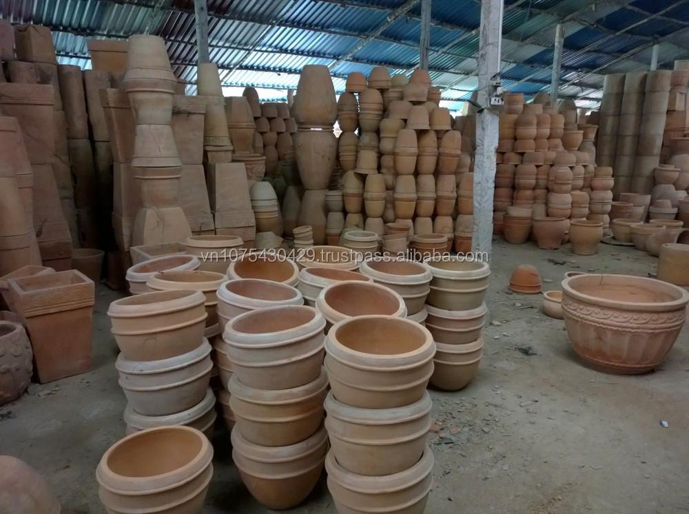 Buddha Ceramic Flower Pots Terracotta Pots Wholesale Cheap