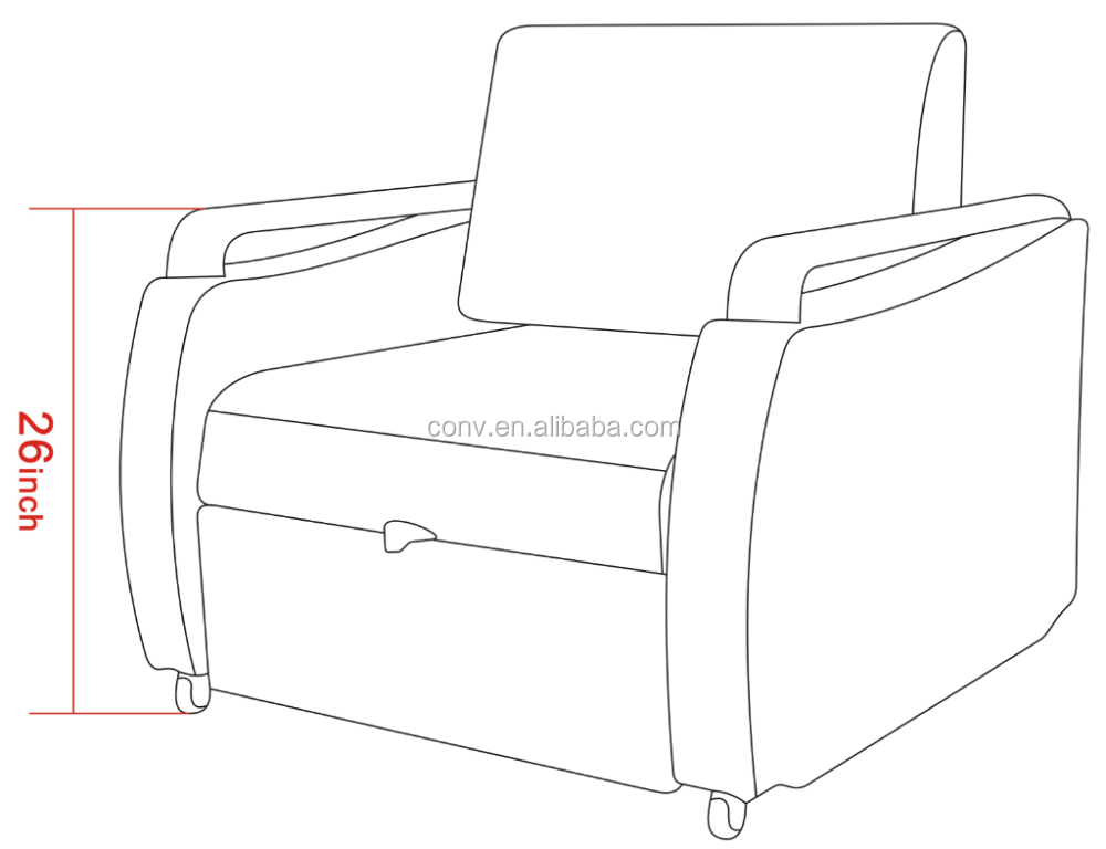 medical hospital sleep chairs pull out sofa bed