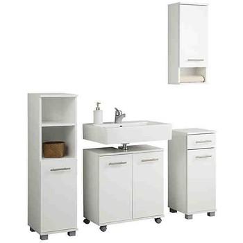 Amazing Bathroom Furniture Bathroom Set Bathroom Furniture White MDF Premium 5