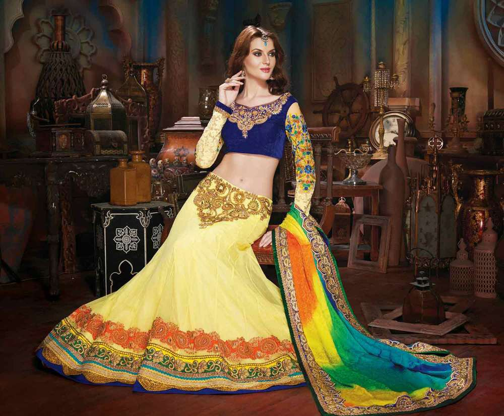Image result for ghaghara choli photo