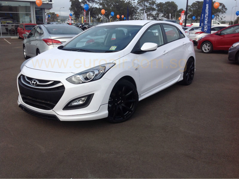 new 2014 hyundai i30 body kit in high quality abs. Black Bedroom Furniture Sets. Home Design Ideas