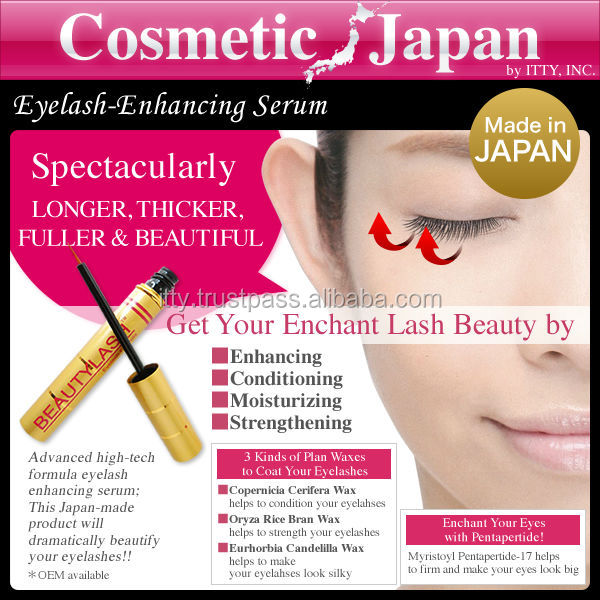 Get long lashed eyes! Enhance serum eyelash lady use with effective ingredients wholesale