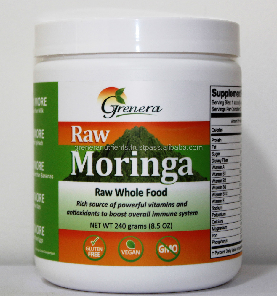 GMP Approved Moringa Powder From Leaf