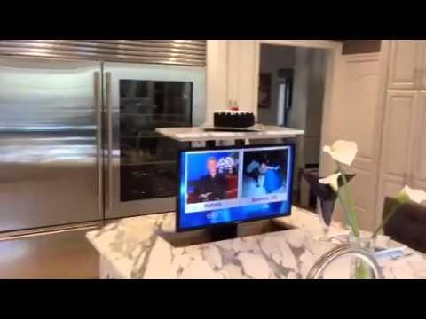 get quotations tv lift lexus av pop up tv lift kitchen installed