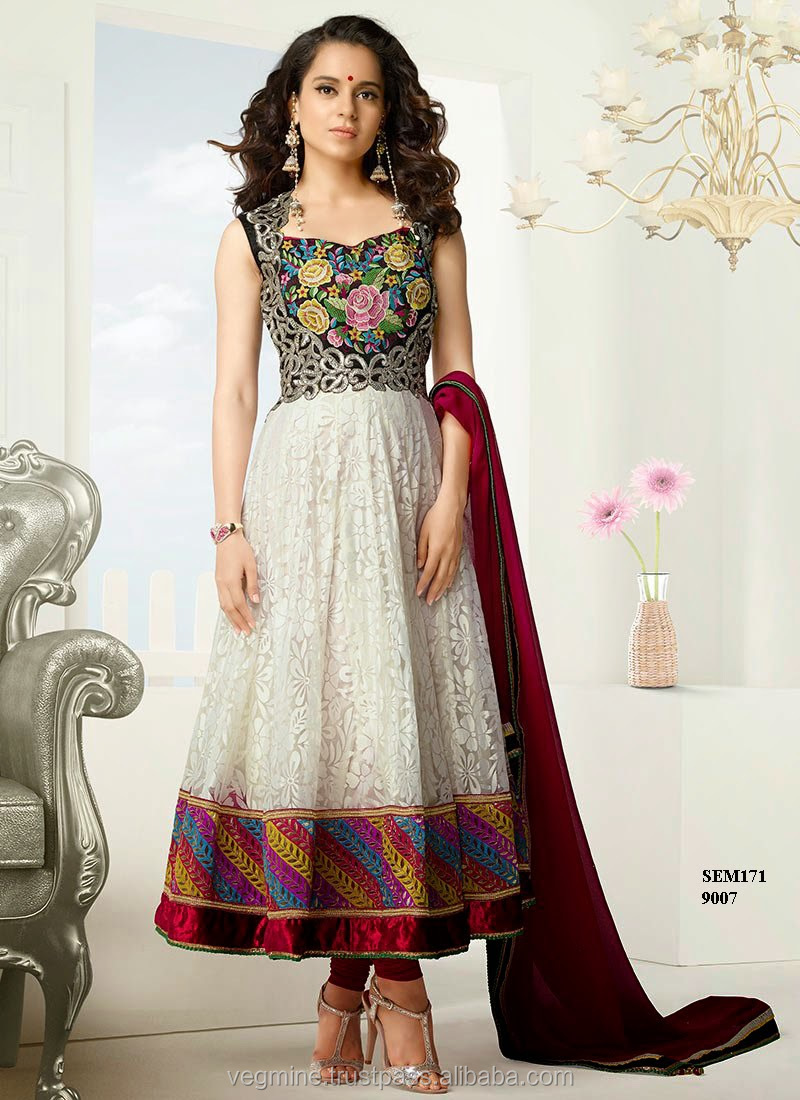 Heavy Anarkali Designer Suit / Traditional Designer Anarkali Suit ...