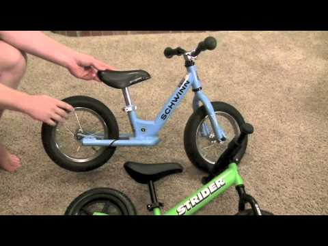 Strider Balance Bike vs Schwinn Balance Bike Review