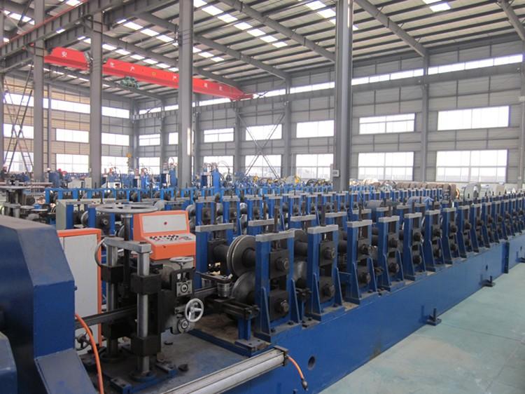Roller shutter door roll forming machine for India Oman Saudi Arabic
