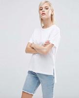 100 Cotton Mill Wash Women Shirt Pretty Women Clothing Distressed Tshirt Custom Printing