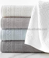 High quality woven technics adults age group jacquard bath towels - 100% cotton india