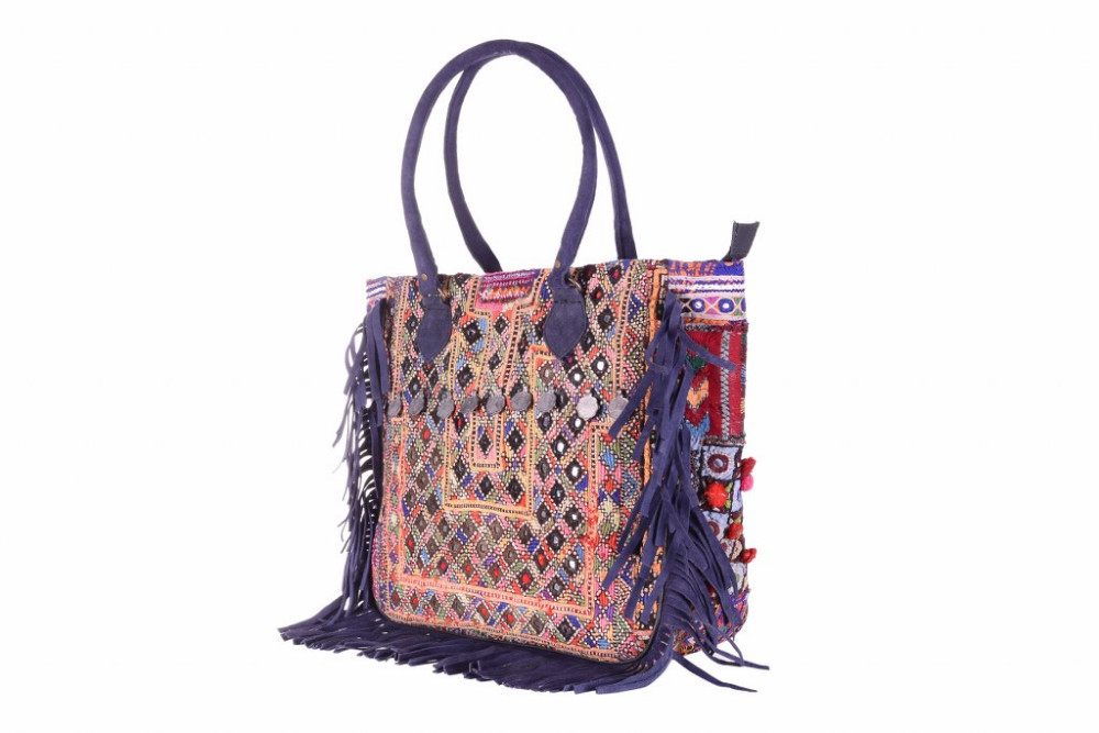 60699d8983b Indian Ethnic Banjara Style Coin Tote Bags Designer Leather Fringe Handbag  Women Party Bags - Buy Leather Handbags Designer Nice Bags For Women,Party  ...
