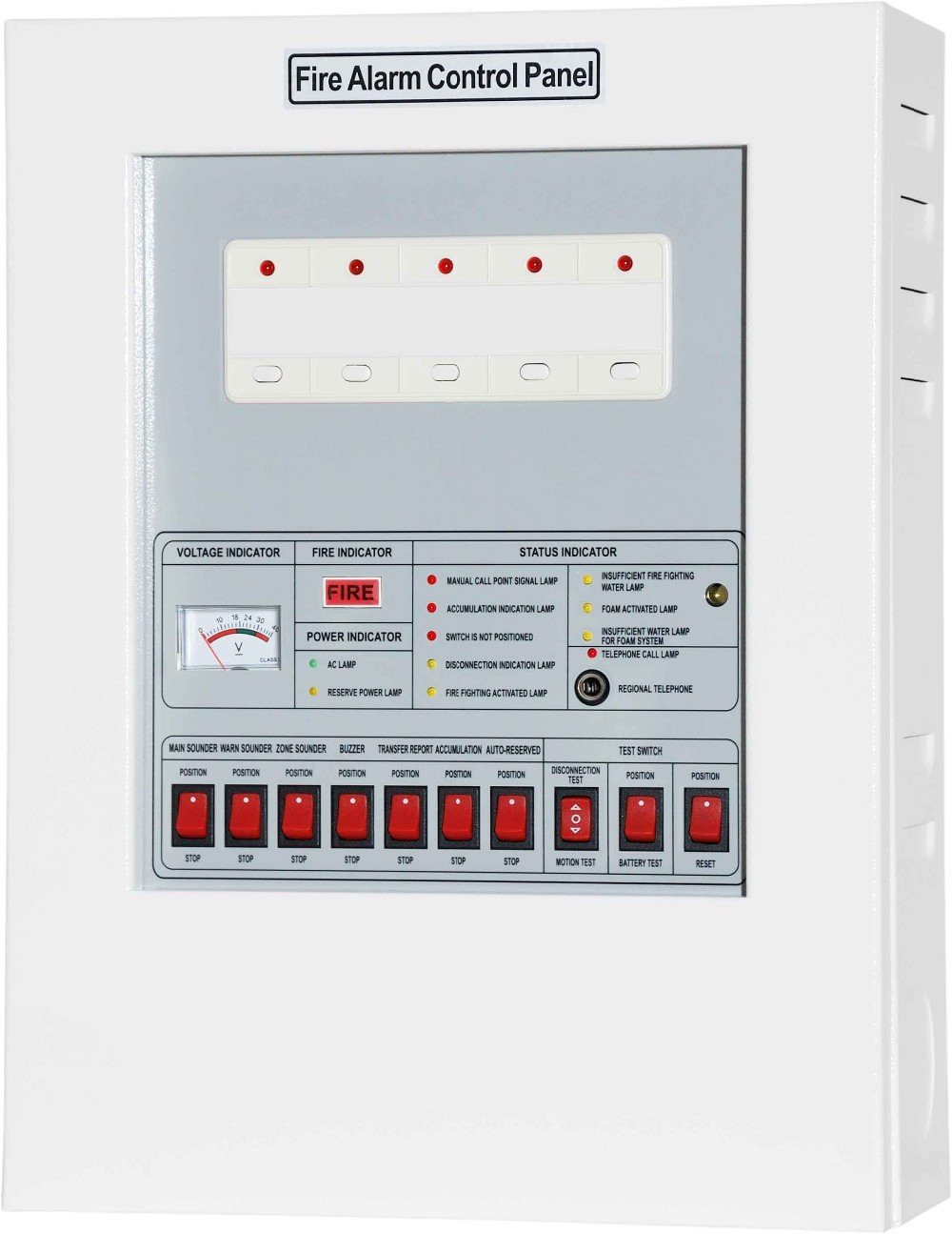 Cm-p1 Conventional Fire Alarm System Control Panel - Buy Fire Alarm ...