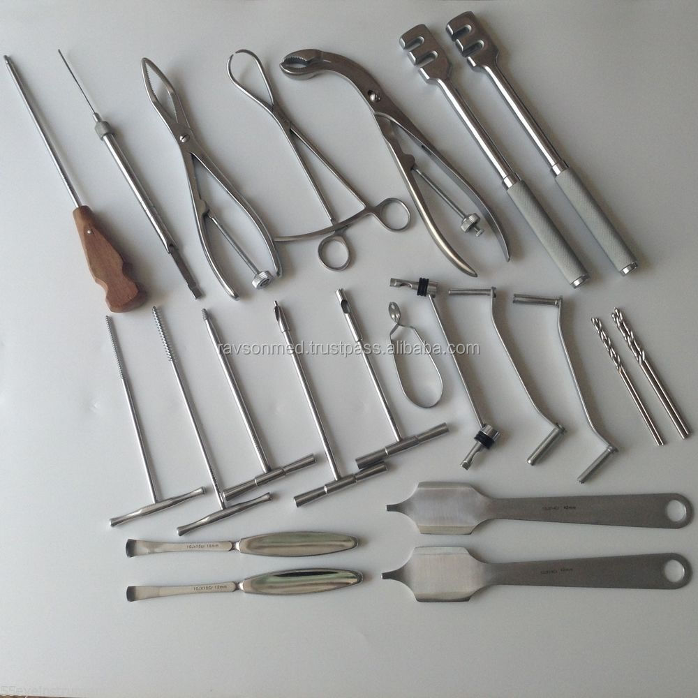 Veterinary Orthopedic Instrument set for fracture of lower extremity /Orthopedic instruments & Tools Manufacturer & Suppliers