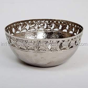 Decorative Metal Bowl  Buy Metal Fruit Bowl Product On