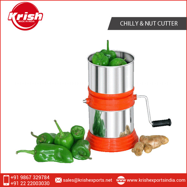 New Trendy and Safe Round Chilly Cutter from Leading Exporter