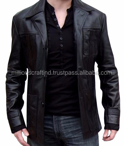 Latest Custom Arrival Used Leather Jackets,Faux Leather Hooded ...