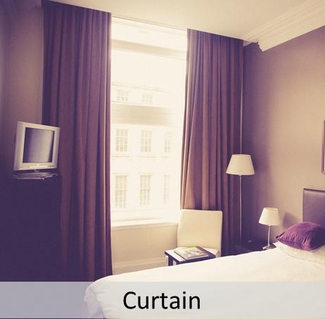 Curtain blinds hook