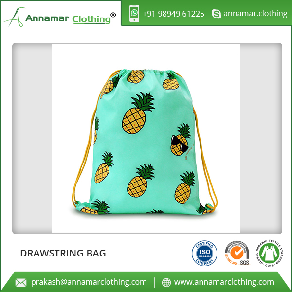 Wholesale Best Price Custom Print Drawstring Bags For Gift