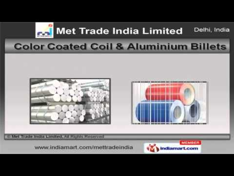 Aluminium Rod & Led products by Met Trade India Limited, New Delhi