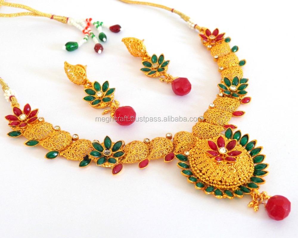 India imitation jewellery one gram gold jewelry wholesale ...