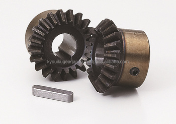 Hardened straight miter gear Module 2.5 Carbon steel Made in Japan KG STOCK GEARS