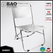 Best products made in Viet Nam - Stainless Steel Chair folding - 100% SUS 304 (GXB001)