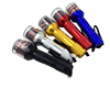 Metal Aluminium Flashlight Torch Shape Flashlight Electric Tobacco Grinders Chopper Electric Metal Grinders