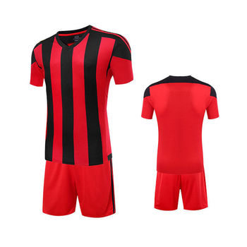 meet a8343 881f2 Red And Black Multi Colors Super Play Gamer Soccer Jersey And Short  Uniform,Football Sportswear Oem Factory I.m International - Buy Lining  Multi Color ...