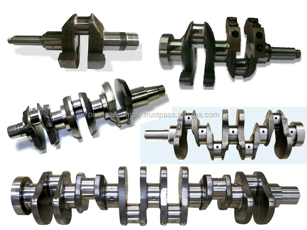 JOHN DEERE crankshaft 6.8 POWER TECH 6068HrW60 6068HRW62 OR 6068HRW71 TIER II ENGINE 414 C.I.D. 6.8 LITER 2 OR 4 VALVE HEAD