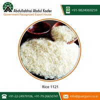 Chemical Free 1121 Basmati Rice with Fine Quality from Genuine Trader
