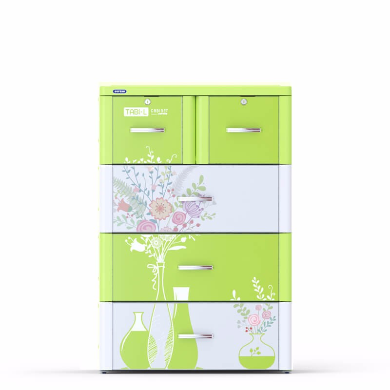 Plastic drawer/ cabinet plastic drawers/TABI-L CABINET - 4 DRAWERS - Duy Tan Plastic