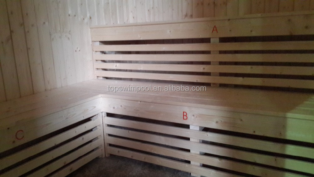 Cabina Sauna Vapor : Madera maciza infrarrojo lejano sauna de vapor sala de cabina