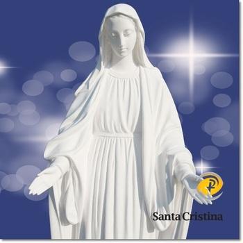 Catholic Grace Virgin Mary Garden Statue 21mMaria JesusMadonna