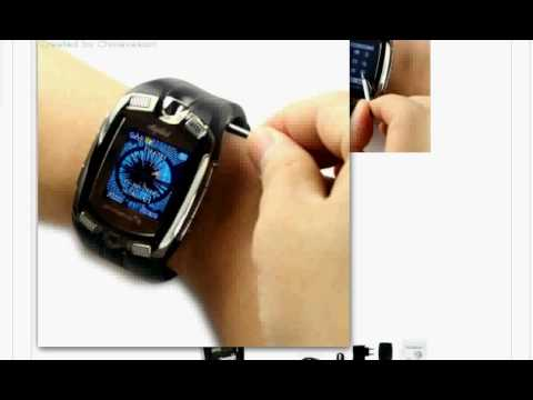 $ 111-US, Super Cool Mobile Phone Wrist Watch, 1st Shopping Channel