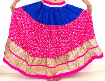 1040e093d Moda India Desgaste Falda Larga De Seda Tradicional Falda Étnica India  Falda Larga - Buy Indio Bloque Impresión Falda De Algodón,Indio Tradicional  ...
