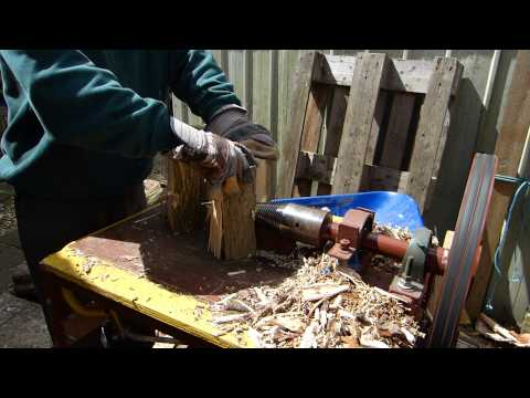 Screw Type Log Splitter DIY