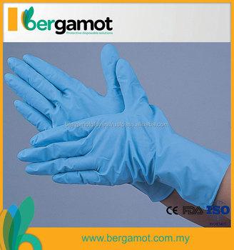 Examination Gloves Free Sample Disposable Nitrile Glove - Buy ...