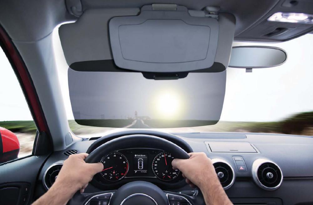 SUNSET(C) INNOVATIVE SUN VISOR EXTENDER SUN-SHIELD   SUNSHADE SUN  PROTECTION FOR DRIVERS bf19cde9e5a